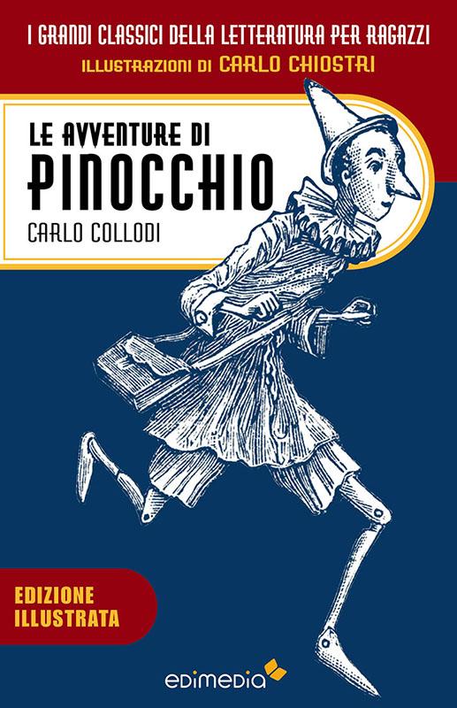 Le avventure di Pinocchio - illustato